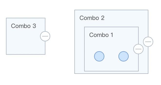 扩展矩形 Combo