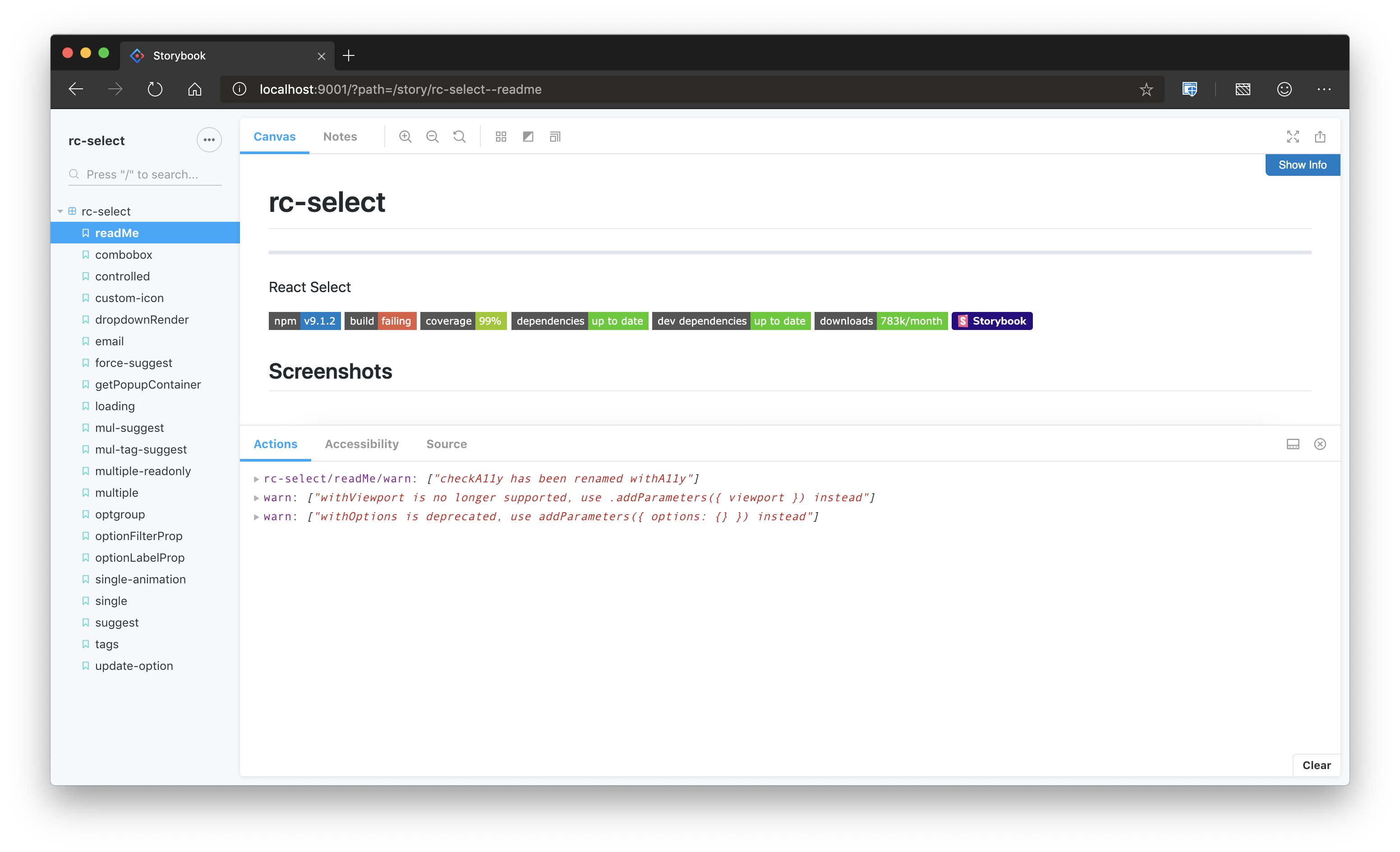 rc-select - npm