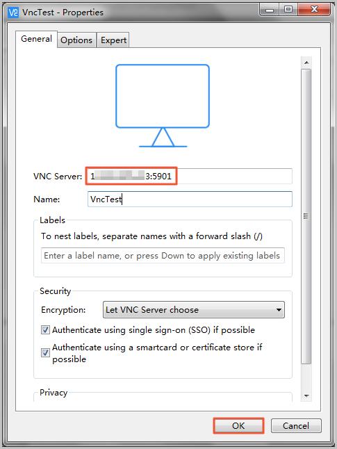 Linux实例安装VNC Server实现图形化访问
