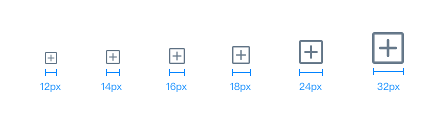 Icon Sizing