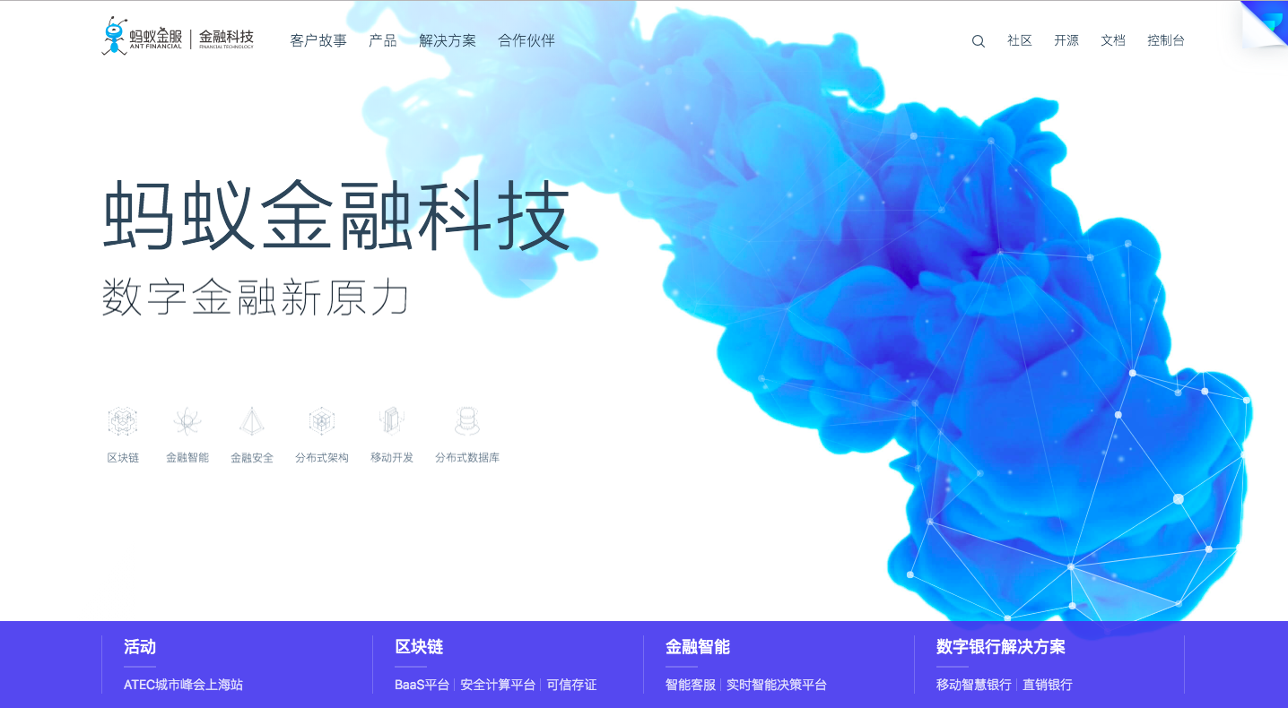 Ant Financial Technology
